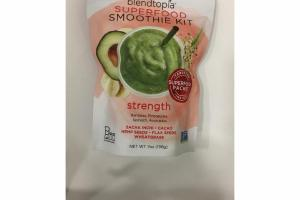 STRENGTH BANANAS, PINEAPPLES, SPINACH, AVOCADOS SUPERFOOD SMOOTHIE KIT