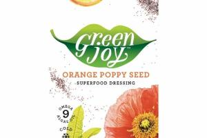 ORANGE POPPY SEED SUPERFOOD DRESSING
