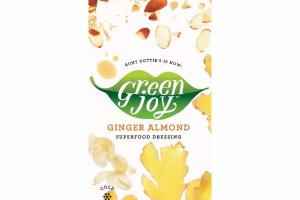GINGER ALMOND SUPERFOOD DRESSING