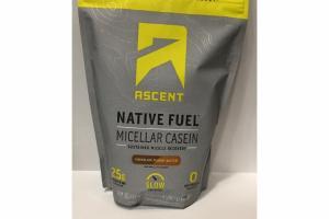 CHOCOLATE PEANUT BUTTER NATURALLY FLAVORED MICELLAR CASEIN PROTEIN POWDER
