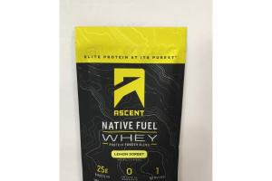 LEMON SORBET WHEY PROTEIN POWDER BLEND