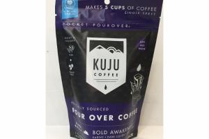 DARK ROAST POUR OVER COFFEE