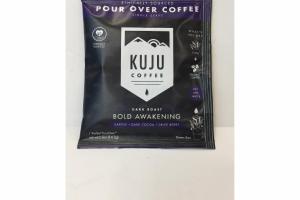 DARK ROAST BOLD AWAKENING OVER COFFEE
