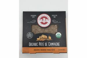 ORGANIC COUNTRY PORK PATE