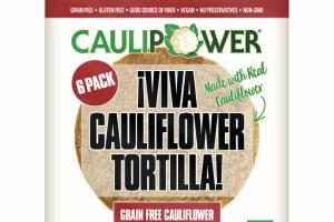 GRAIN FREE CAULIFLOWER TORTILLA