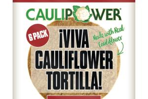 IVIVA GRAIN FREE CAULIFLOWER TORTILLA