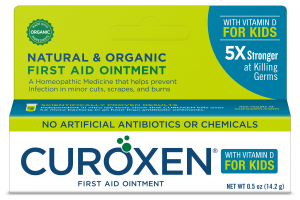 Natural & Organic First Aid Ointment With Vitamin D For Kids