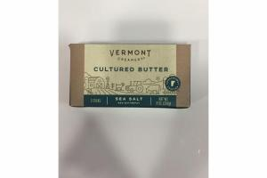 SEA SALT CULTURED BUTTER STICKS