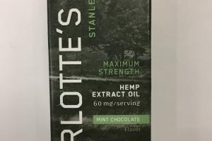 Maximum Strength Hemp Extract Oil Dietary Supplement