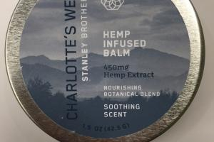 Hemp Infused Balm, Soothing Scent