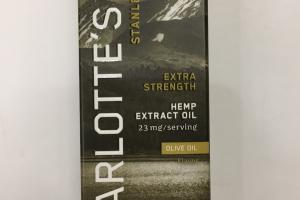 Extra Strength Hemp Extract Oil Dietary Supplement