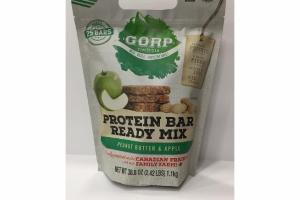 PEANUT BUTTER & APPLE PROTEIN BAR READY MIX