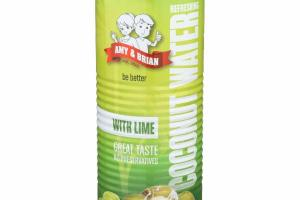 REFRESHING COCONUT WATER WITH LIME