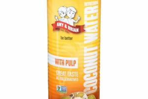 REFRESHING COCONUT WATER WITH PULP