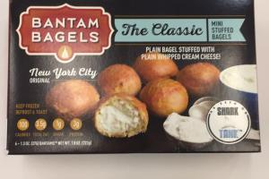 The Classic Mini Stuffed Bagels