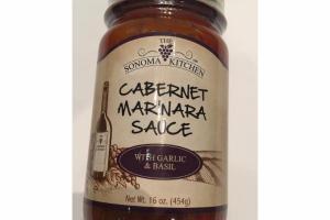 CABERNET MARINARA SAUCE WITH GARLIC & BASIL