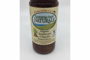 ORGANIC SOUTHWEST CHIPOTLE PITTED OLIVES