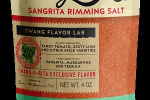 CHILIES, TAMARIND FLAVOR SANGRITA RIMMING SALT
