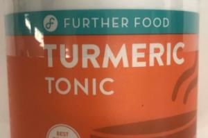 TURMERIC TONIC POWDERED DIETARY SUPPLEMENT