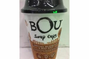 SHIITAKE MUSHROOM & BEEF SOUP CUPS