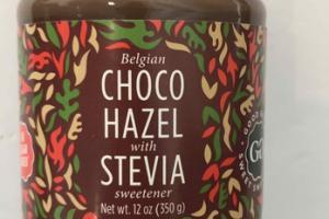 BELGIAN CHOCO HAZEL WITH STEVIA SWEETENER