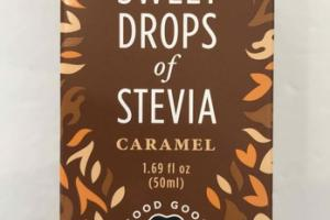 CARAMEL SWEET DROPS OF STEVIA