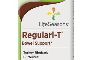 Regulari-t Bowel Support Dietary Supplement Vegetarian Capsules