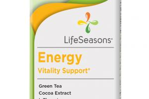 Energy Vitality Support Dietary Supplement Vegetarian Capsules