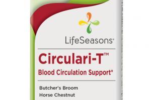 Circulari-t Blood Circulation Support Dietary Supplement Vegetarian Capsules