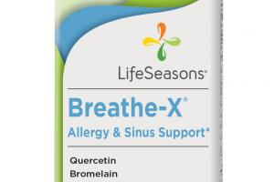 Breathe-x Allergy & Sinus Support Dietary Supplement Vegetarian Capsules