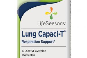 Lung Capaci-t Respiration Support Dietary Supplement Vegetarian Capsules