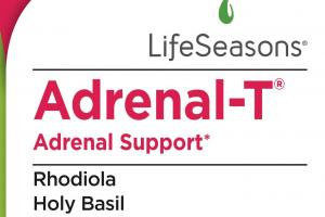 Adrenal-t Support Dietary Supplement Vegetarian Capsules