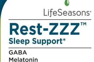 Rest-zzz Sleep Support Dietary Supplement Vegetarian Capsules