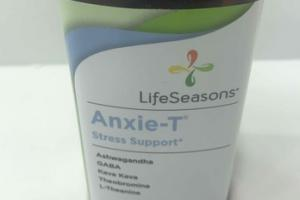 ANXIE-T STRESS SUPPORT DIETARY SUPPLEMENT VEGETARIAN CAPSULES