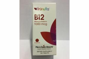 B12 METHYLCOBALAMIN 1000 MCG MICRO QUICK ABSORB INSTANT DISSOLVE TABLETS DIETARY SUPPLEMENT