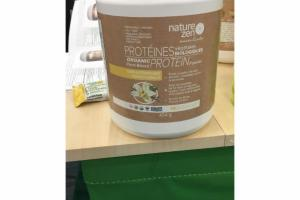 FRENCH-VANILLA ORGANIC PLANT-BASED PROTEIN POWDER