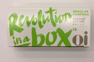 Organic Cotton Regular Tampons