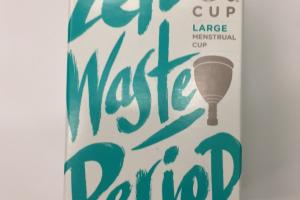 Large Menstrual Cup