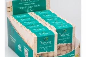 ORGANIC 100% CANE SUGAR ROCKS CUBES
