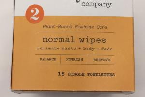 Plant-based Feminine Care Normal Wipes