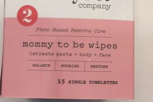 Mommy To Be Wipes