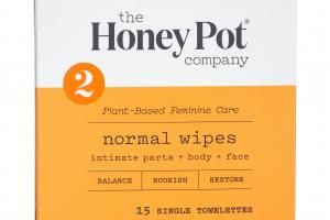 INTIMATE PARTS + BODY + FACE NORMAL WIPES SINGLE TOWELETTES