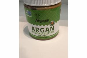 ARGAN COCONUT ALMOND BUTTER