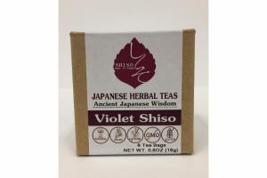 VIOLET SHISO JAPANESE HERBAL TEAS