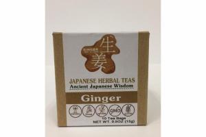 GINGER JAPANESE HERBAL TEAS