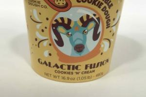 COOKIES 'N' CREAM EDIBLE COOKIE DOUGH GALACTIC FUSION