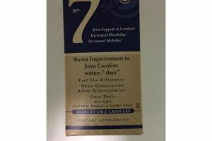 JOINT SUPPORT  COMFORT DIETARY SUPPLEMENT VEGETABLE CAPSULES