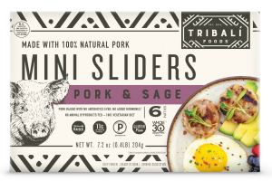 PORK & SAGE MINI SLIDERS