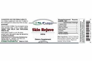 SKIN REJUVE ACTIVE DIETARY SUPPLEMENT TABLETS