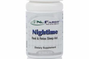 NIGHTIME REST & RELAX SLEEP AID DIETARY SUPPLEMENT TABLETS